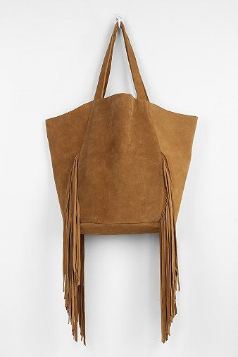 Ecote Cava Suede Fringe Tote Bag - Urban Outfitters $120.00
