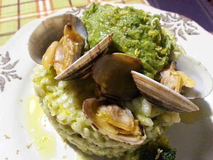 Fatemi cucinare !!!: Risotto broccoli e vongole