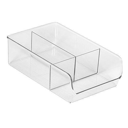 kuchenschranke ike : InterDesign Linus Aufbewahrungsbox Speisekammer-Organizer, 18 cm, mit ...