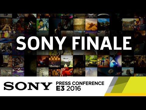 Seen at the end of the Sony Press Conference, here's the finale montage of everything show on the PlayStation 4 at E3 2016. Watch Sony's full press conferenc...