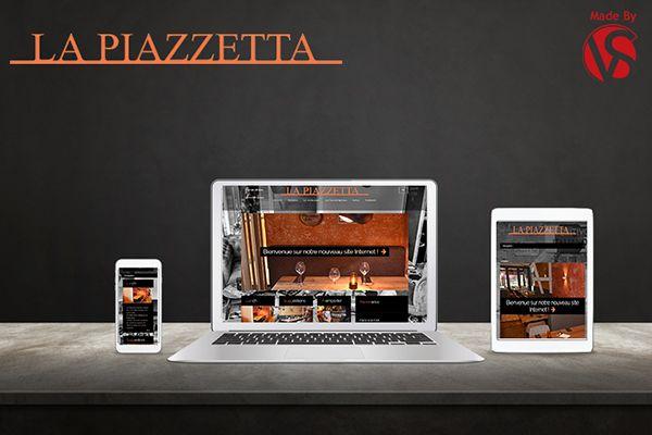 Nous donc créé un site responsive au restaurant La Piazzetta permettant aux clients de réserver en ligne, mais également de consulter le menu du restaurant et celui à emporter de la Piazzett@casa. Les internautes peuvent consulter le lunch, les suggestions et un calendrier totalement modulable. Les horaires étant variable, les patrons de La Piazzetta peuvent donc les changer à tout moment.Le site dispose également d'une flashnews, d'une galerie photo, d'un module actualités.