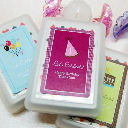 Birthday Playing Cards with Personalized Labels by Beau-coup