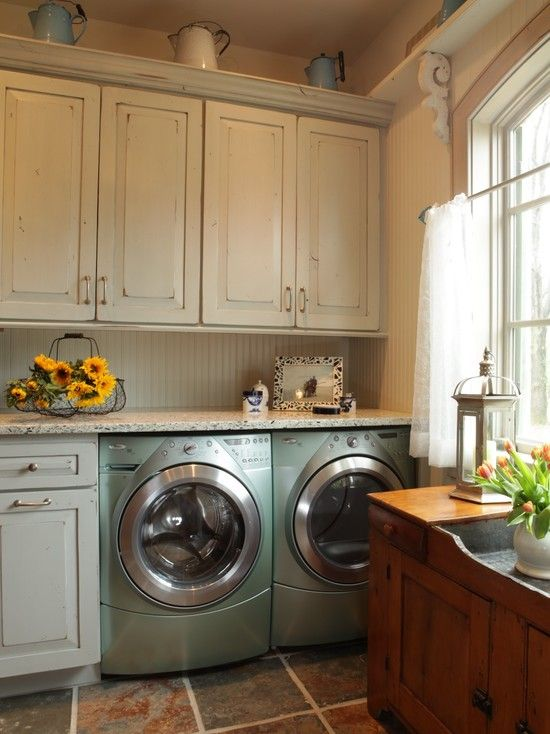 Like the distressed cabinets and dry sink  Jenny Rausch   rustic   Laundry  Room   St Louis   Karr Bick Kitchen and Bath48 best Laundry Room Inspiration images on Pinterest   Room  . Kitchen Laundry Combo Designs. Home Design Ideas