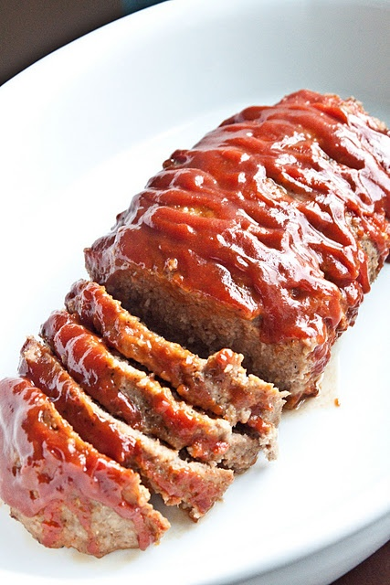 turkey meat loaf. Me want some, NOW!