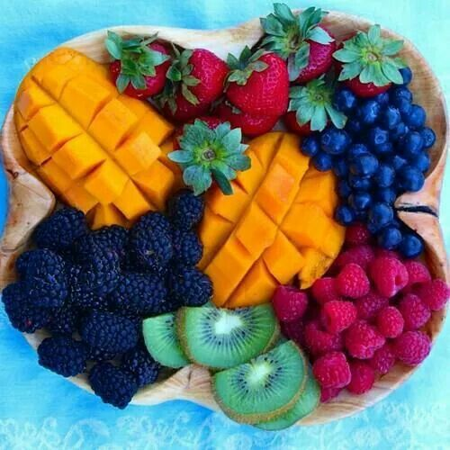 Mixed fruit dish