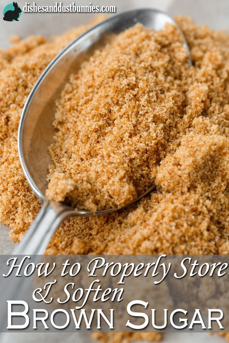 Discover some of the super simple ways you can prevent brown sugar from becoming as hard as a rock and also how you can fix it!