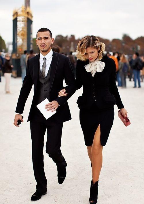 Fashion mode love like cute matching suit dress highheels
