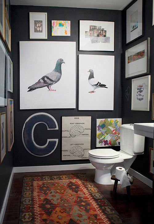 Картины в интерьере ванной комнаты и туалета (ФОТО) ванная,интерьер ванной,туалет,картины,картины в интерьере,картины в ванной,декор,уютная ванная,красивые картины