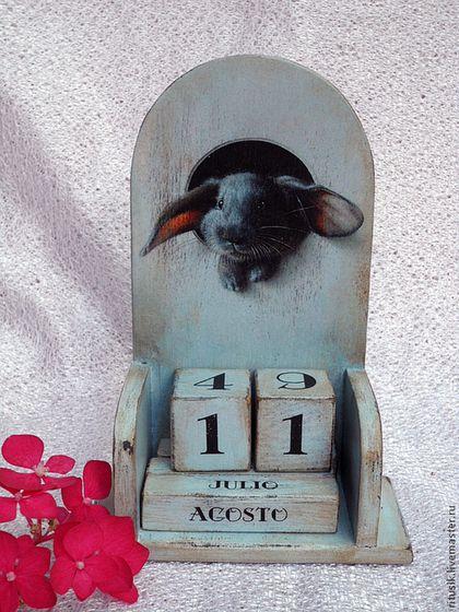 Календари ручной работы. Ярмарка Мастеров - ручная работа Вечный календарь. Handmade.