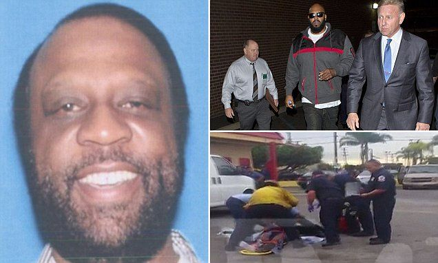 Suge Knight is being called a 'murderer' by eyewitnesses that say the hip hop mogul behind the wheel during a Thursday afternoon incident that left Terry Carter, 55, dead.