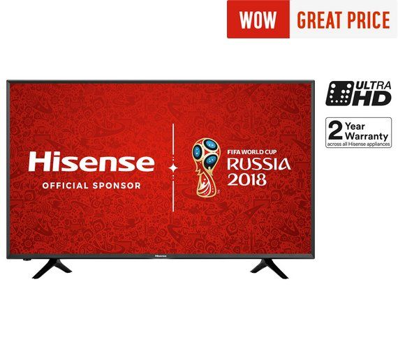 Buy Hisense H43N5300 43 Inch 4K Ultra HD Smart TV at Argos.co.uk, visit Argos.co.uk to shop online for Televisions, Televisions and accessories, Technology