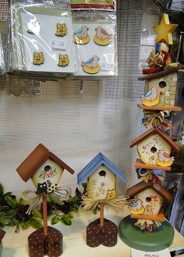 casinhas de passárinhos