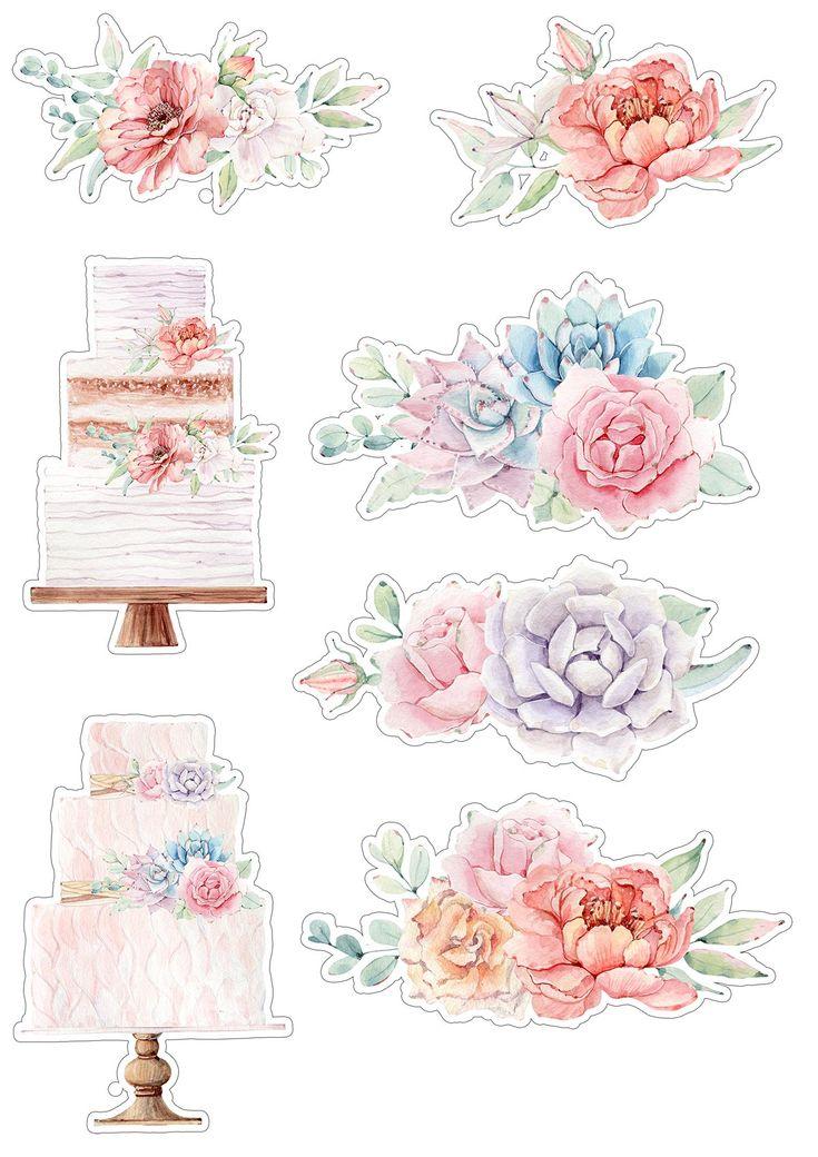 Картинки для скрапбукинга для распечатки