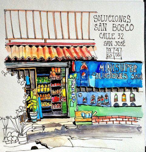 Soda Soluciones San Bosco, Avenida 6/Calle 32, San Jose, Costa Rica | Flickr - Photo Sharing!