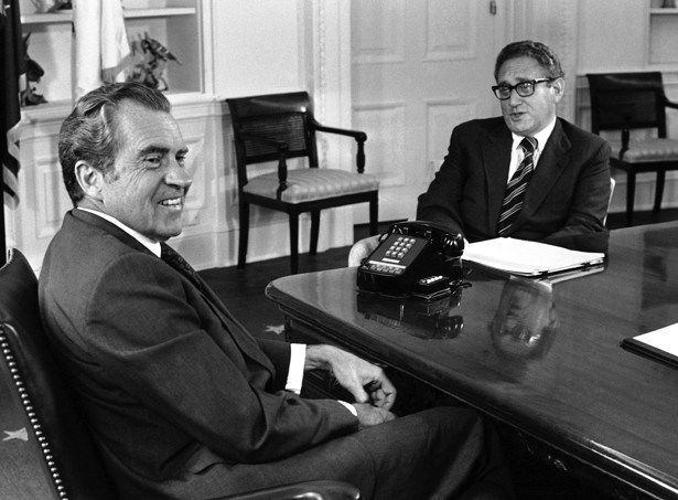 NIXON-KISSINGER VIETNAM TREASON - POLICY OF POLITICAL OPPORTUNISM. ON JANUARY 23, 1973, PRESIDENT NIXON ANNOUNCED PARIS PEACE ACCORDS.