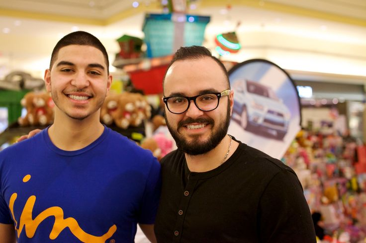 Omeedfrom Boathouse and Amir from Virgin Mobile - Hillcrest Toy Mountain 2014-12-16, 19-41-01