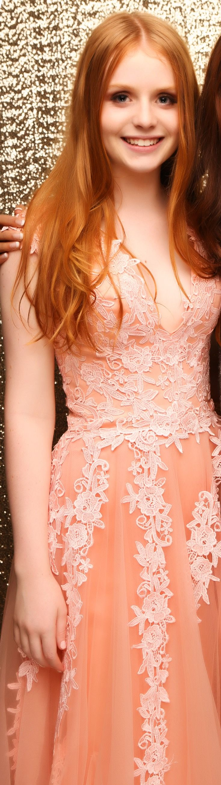 St Cuths Ball 2015. Obsessed with this incredible lace gown! www.whitedoor.co.nz