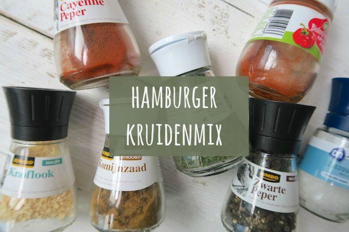 Het is alweer even geleden, maar vandaag hebben we weer een recept voor een kruidenmix voor jullie. En deze keer voor hamburgerkruiden. Serveer de hamburgers met aardappeltjes en een salade of traditi