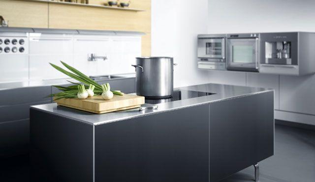 moderne edelstahl kuche 2 in 2020   Kitchen, Home decor, Decor