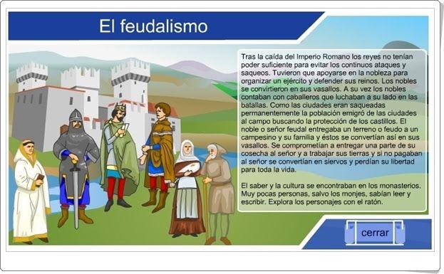 """""""El feudalismo"""" (Historia de Educación Primaria)"""