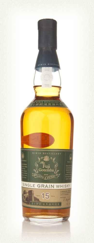 The Fuji Gotemba 15 Year Old Single Grain Whisky