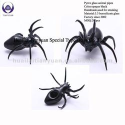 Spider Glass Pipes! Yikes!