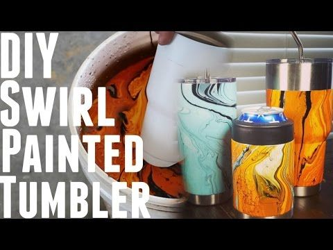 How to Give Your Yeti Rambler a Custom Hydro-Dipped Paint Job at Home