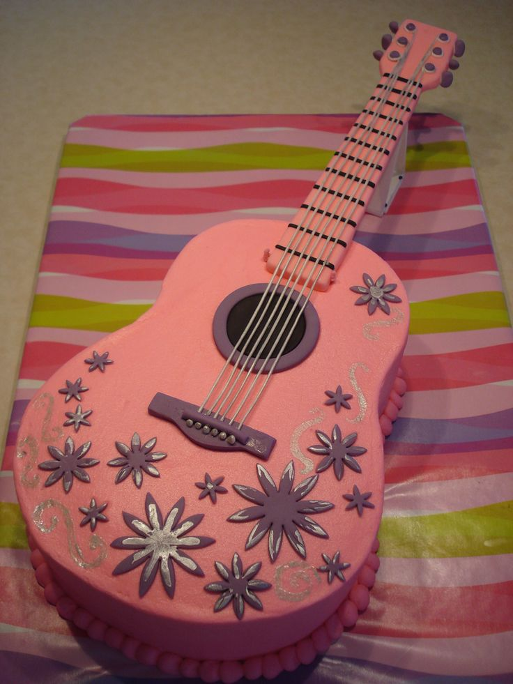Best 25 Guitar Cake Ideas On Pinterest Guitar Birthday