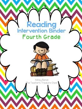 This reading intervention binder was created for small group instruction for fourth grade. The binder includes over 205 pages of engaging and unique intervention activities. Included:Assessments- Formative Assessments, Vocabulary Assessments, Fluency AssessmentsVocabulary- Lists/Assessments of most commonly used words, Concept of Word Lists, My Word Maps (4 pages), and Word CardsSynonyms, Antonyms (10 Pages) Anchor charts, Homographs/Homophones (7pages)Sight Words- I Say Words, Sight Words…