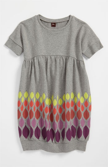 Tea Collection 'Colors of Autumn' Dress (Little Girls & Big Girls) available at #Nordstrom