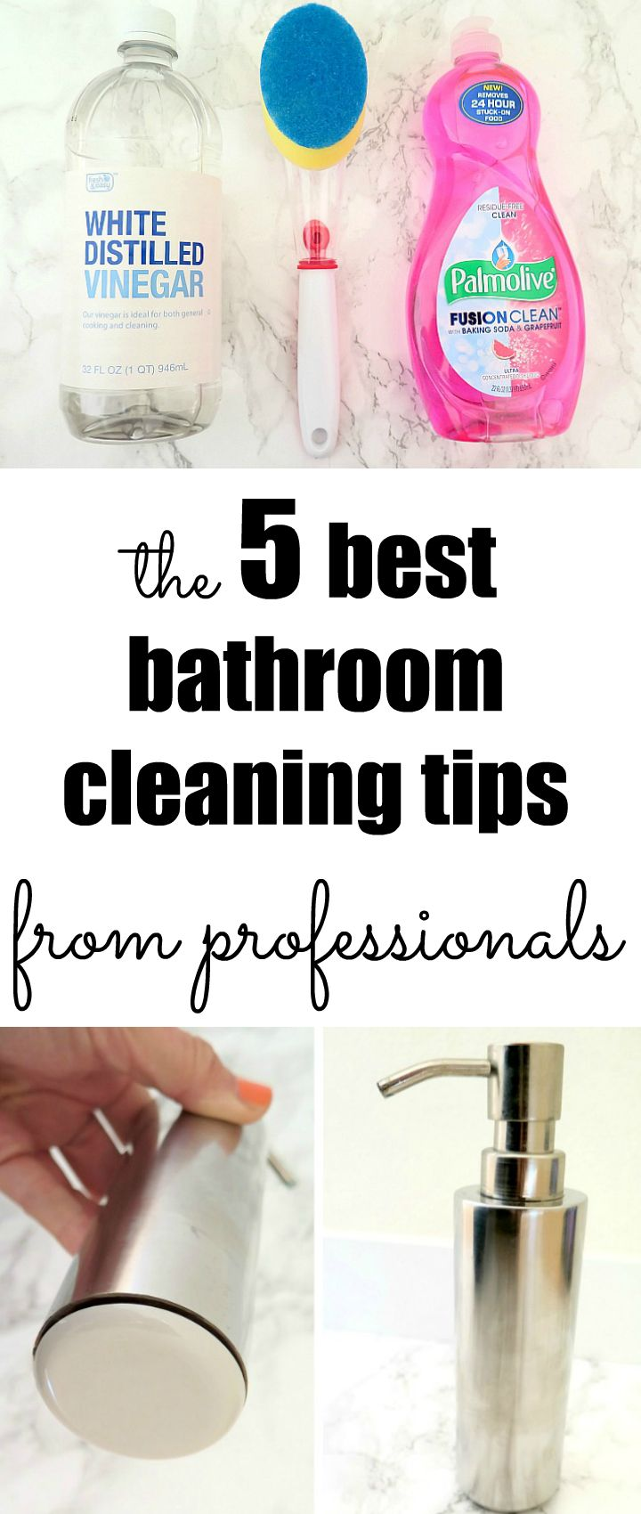 5 surprising tips to always have a clean bathroom for Bathroom cleaning techniques