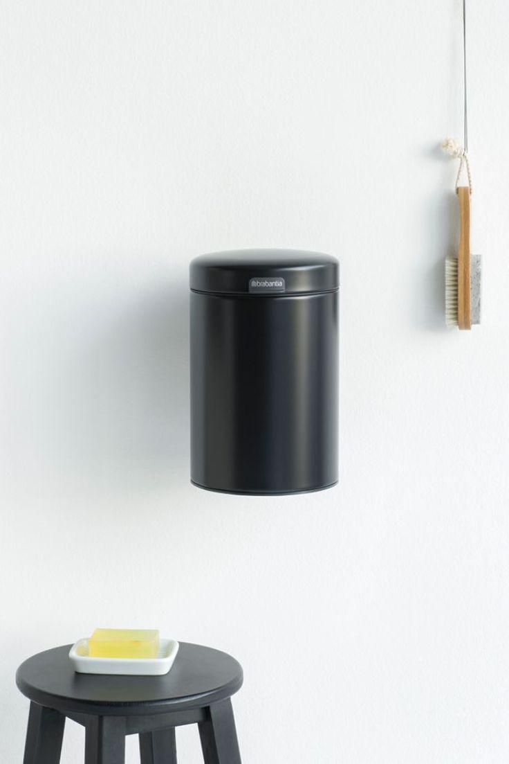 Настенный бак Brabantia newIcon – Ваш лучший друг и помощник в ванной комнате! Изготовленный из устойчивых к коррозии материалов, прочный, не пропускающий запахи и с пластиковым внутренним ведром