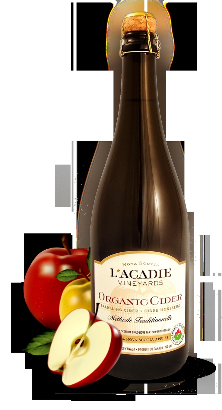 Organic Cider  Certified organic apples from the famous Annapolis Valley, Nova Scotia