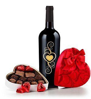 Valentines Gifts 2013 Wine And Chocolates Valentines
