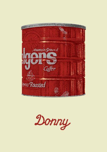 The Lebowski Series: Donny Art Print by Bubblegun | Society6