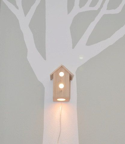 House-shaped nightlight for your baby's nursery