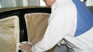 czyszczenie przed lakierowaniem z pyłu