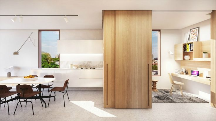7 Contemporary Dining Room Sets By Woods Bagot | Modern Dining Rooms. Dining Room Sets. Dining Room Interiors. #diningroomtables #diningroomchares #woodbagot http://diningroomideas.eu/contemporary-dining-room-sets-woods-bagot-nyc/