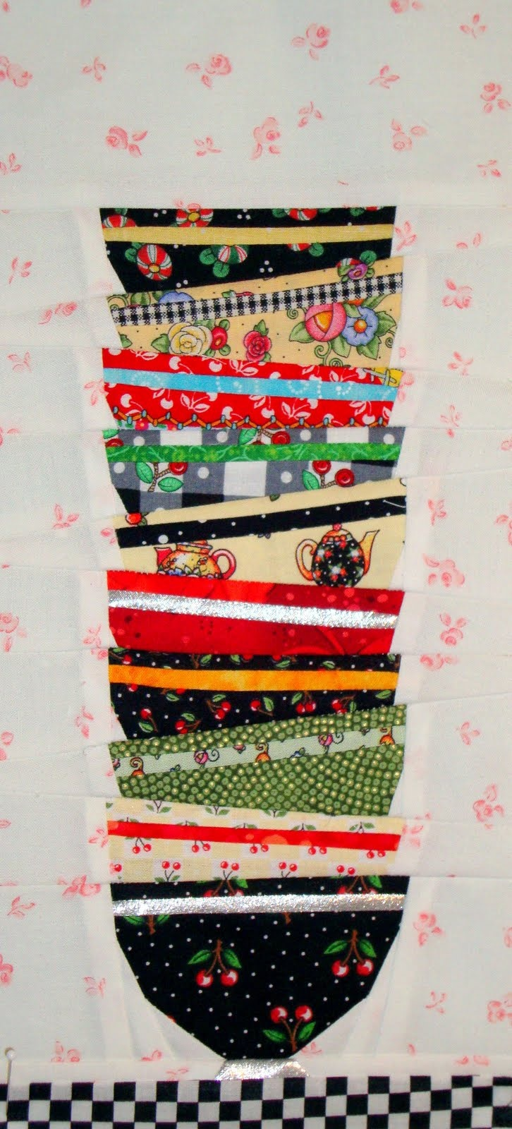 Mary's fabrics...I just bought the black dot Cherry fabric last week to make an Apron.  Can't wait to finish it.