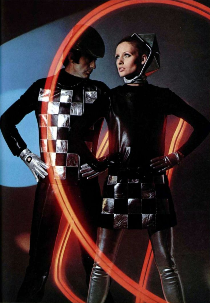 Pierre Cardin. L'Officiel magazine 1968