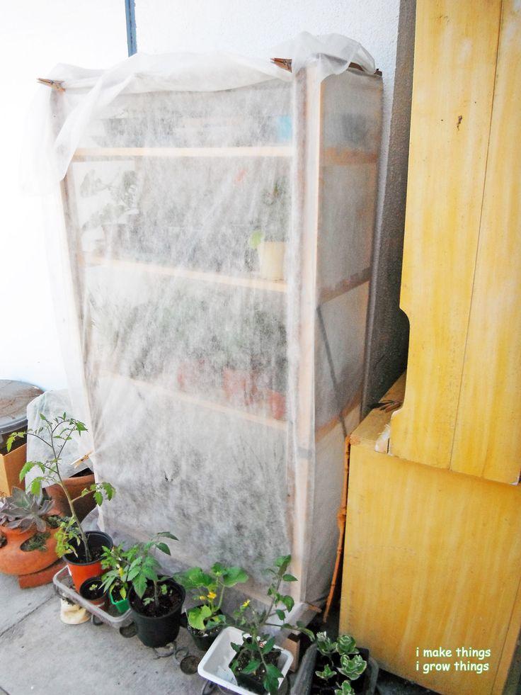 I Made Grow Shelves Diy Mini Greenhouse, Build A