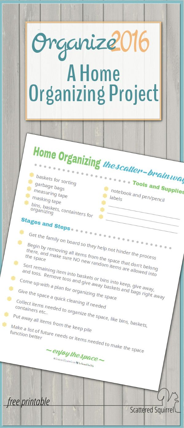 Home organizing can be tough, but when you're joining others who are doing the same thing it becomes a little more fun. Hop on over and join in!
