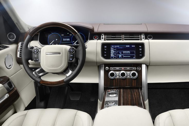 New Photos of 2013 Range Rover Including First Shot of the Interior