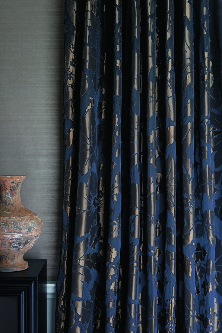 Constantina curtains by @ZoffanyFW available from Rodgers of York #curtains #home #interiors