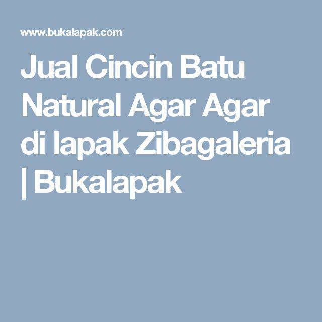 Jual Cincin Batu Natural Agar Agar di lapak Zibagaleria |  Bukalapak