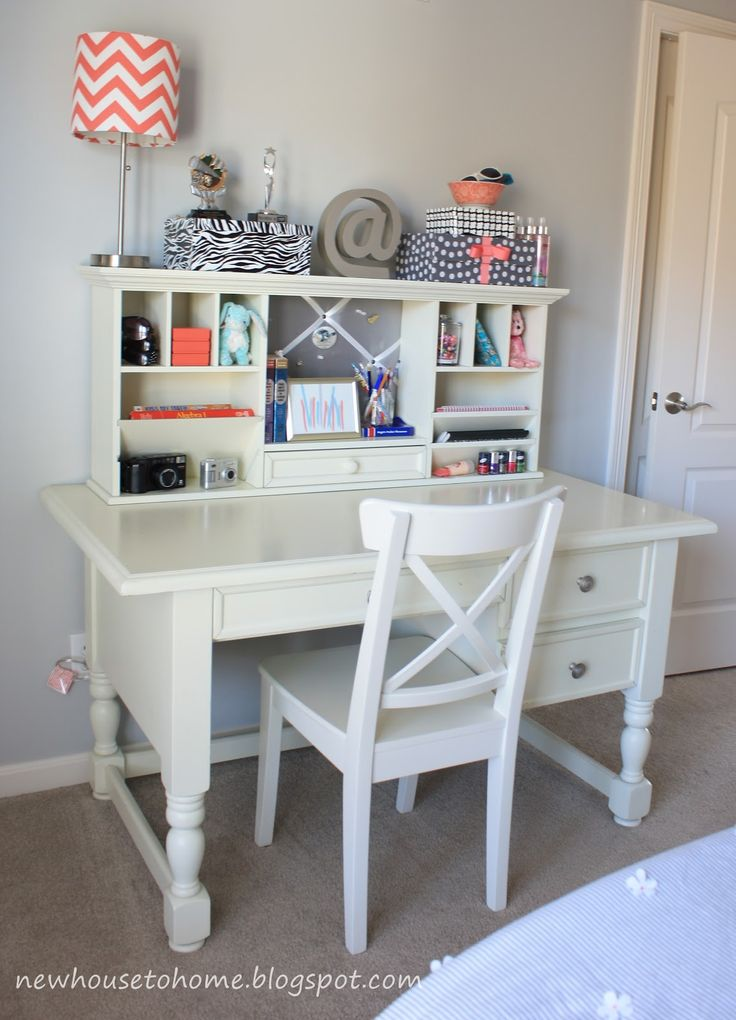 New House to Home  Teen Girl s Room Reveal Finally Best 25 girl desk ideas on Pinterest for teen
