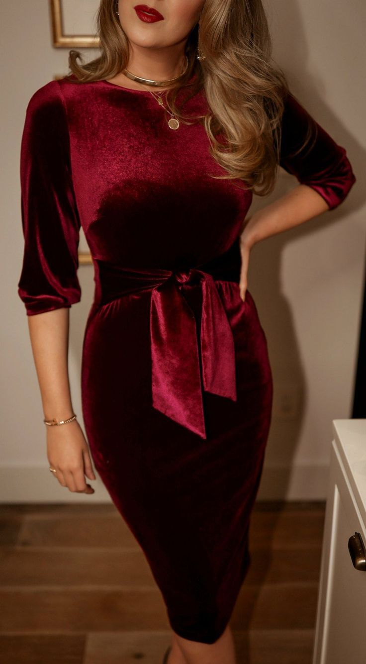 Day 19 Holiday Entertaining Fashion Stretch Midi Dress Dresses [ 1335 x 736 Pixel ]