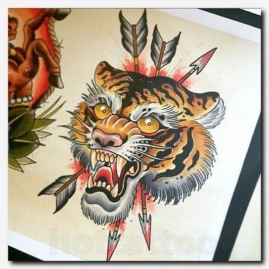 Tigertattoo Tattoo Pharaonic Tattoos Tattoo Cloth Sleeve Tattoos