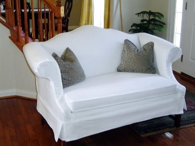 Marvelous Custom Slipcovers Gallery  Oldies But Goodies. Find This Pin And More On Camel  Back Sofa ...