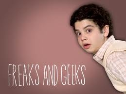 freaks and geeks...a very long time ago, I tried to pick up a dude by telling him he looked like Samm Levine from freaks and geeks.